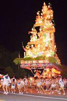 最優秀賞の「諏訪社に舞う祇園山笠」