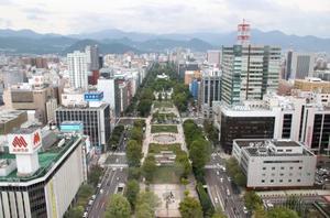 札幌市街=2017年