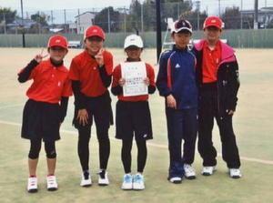 ソフトテニス第5回佐賀市長杯小学生ソフトテニス大会 2位のオムライス