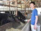 <未来を拓く(6)> 有田町で牛を肥育、繁殖 福野 哲平…