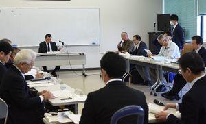 千代田庁舎の利活用計画を検討した委員会=神埼市千代田支所