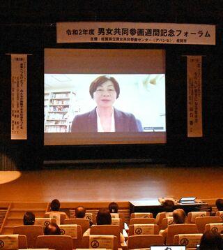 「会議は男女のバランスが必要」 JOCの山口香理事、森会長発言で指摘 佐賀市