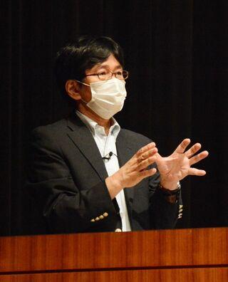 教育現場でのICT活用解説 放送大学の中川教授講演