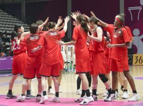 ア大会、バスケ女子が香港に大勝