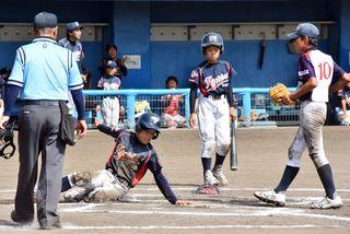 基山逆転 基山ファイターズ3―1福富少年