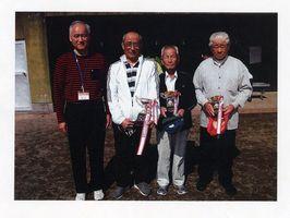 第2回江口病院杯小城市GG大会の上位入賞者