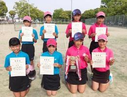 全日本小学生選手権大会及び西日本大会県予選・女子の上位入賞者