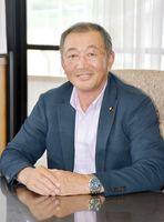 嬉野市議会議長の田中政司さん