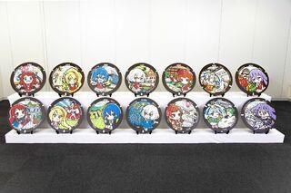 「ゾンビランドサガ」のマンホール、佐賀県内に設置へ 佐賀など6市に キャラクターと各地の名物をデザイン