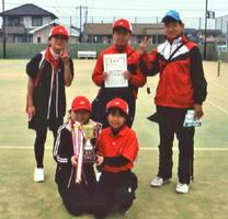 ソフトテニス第5回佐賀市長杯小学生ソフトテニス大会 優勝の幸ちゃんズ