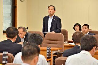 県議会・新幹線特別委 並行在来線新法人で管理