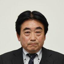 現職の松田氏出馬正式表明