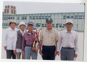 日新GG愛好会6月例会で優勝した第3組チーム