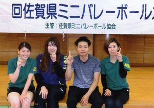 第17回県ミニバレーボール協会クラブカップチャンピオンシップ大会混成の部優勝のFACE1