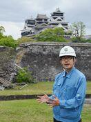 〈結ぶ 支える-熊本地震5年〉(中)熊本城の石垣修復に従…