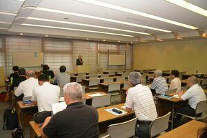 部落差別の研究報告や事業計画を決めた部落解放研究所総会=佐賀市文化会館