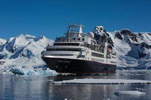 極地でも航行できる「シルバー・エクスプローラー」(シルバーシー・クルーズ提供)