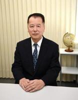 暴力追放功労者表彰を受賞した弁護士の井上和弘さん(60)