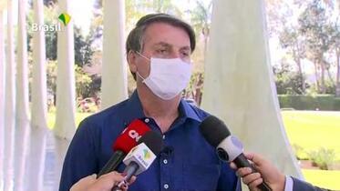 ブラジル大統領がコロナ感染