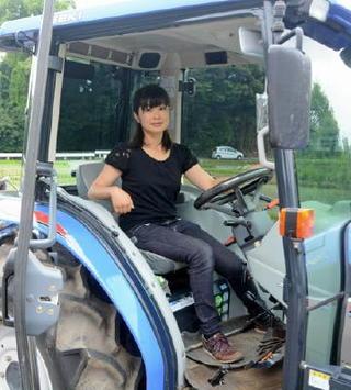 躍動!農業女子(15) 長尾絵美さん(34)=佐賀市