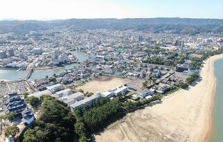 <空さんぽ 学校のある風景(43)>早稲田佐賀高校周辺