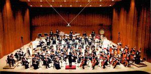 昨年12月に開かれた第59回定期演奏会の様子(提供写真)