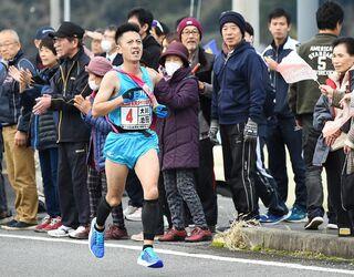 <東西松浦駅伝>大川町体協、地域力が支え 第1回から唯一連続出場