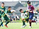 龍谷高サッカー部が中学生大会
