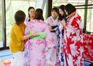中国人留学生が〝徐福の里〟訪問 浴衣で日本文化満喫