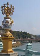 <ぶらっとふるさと>伊万里川の「縁起橋」