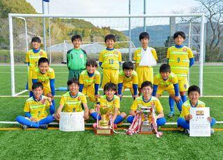 <九州ろうきん杯サッカー・最終日>FC東与賀 初優勝 AVANCE U-12を2-1