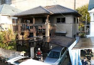 仙台で未明に住宅火災、6人死亡