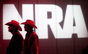 2013年5月にヒューストンで開かれた全米ライフル協会(NRA)の年次総会(ヒューストン・クロニクル紙提供・AP=共同)