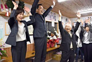 【県議選 唐津市・東松浦郡】市議から転身、冨田さん上位当選
