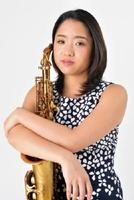 アルトサックス奏者の久保エレナ