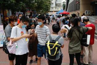 香港民主派、緊張の予備選
