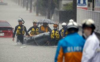 九州豪雨死者53人、不明13人