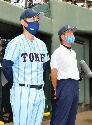 <高校野球>赴任7年目、夏に実を結ぶ 東明館・豊福監督
