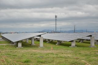 (8)再生エネルギー 再稼働で普及阻害懸念