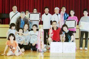 高木瀬体育協会競技大会・卓球の入賞チーム