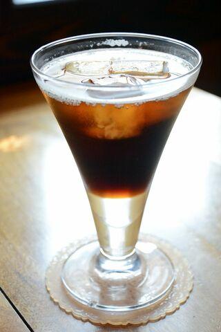<さが食べある記>Cafe Vivaceの「水出しコーヒーソーダ」