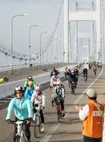 瀬戸内しまなみ海道を自転車で