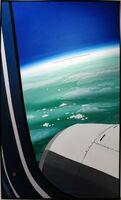 渡邊成樹さん「機窓から」