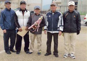 兵庫町GG愛好会2月例会の上位入賞者