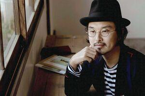 絵本作家の谷口智則さん(提供写真)