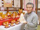 愛らしい手びねりひな展 今年で有終 「人形の家」倉富さん