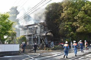 みやき町で民家全焼 21日午後