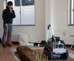 AIロボットが野菜を自動収穫 5…