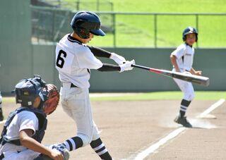 <NTT西日本杯少年野球・第2日>高木瀬小ク6-3江北少年