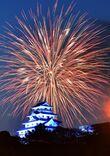 【動画】コロナ退散願い、全国の夜空彩る 唐津市などで…